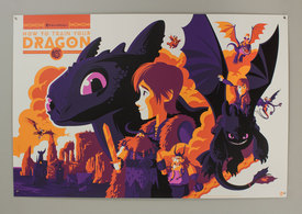 Tom whalen howtodragon purple preview